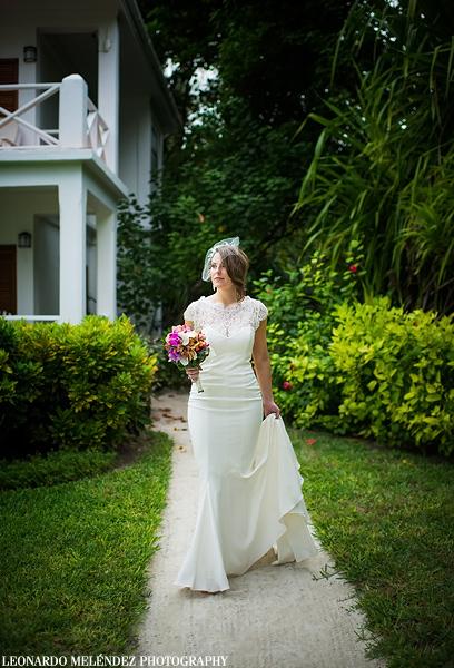 Victoria House Belize wedding, Ambergris Caye.  Belize wedding photographer, Leonardo Melendez.