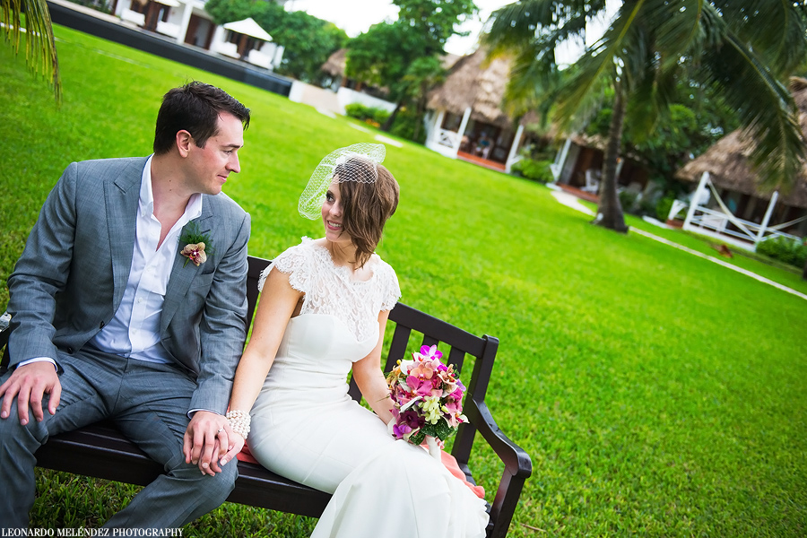 Victoria House, Belize wedding, Ambergris Caye.  Belize wedding photographer, Leonardo Melendez.
