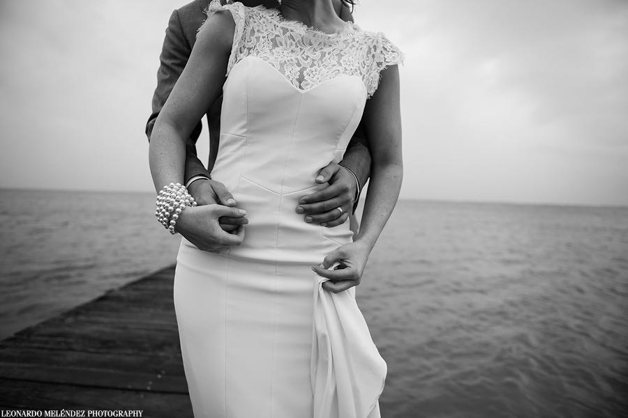 Belize wedding, Victoria House, Ambergris Caye.  Belize wedding photographer, Leonardo Melendez.