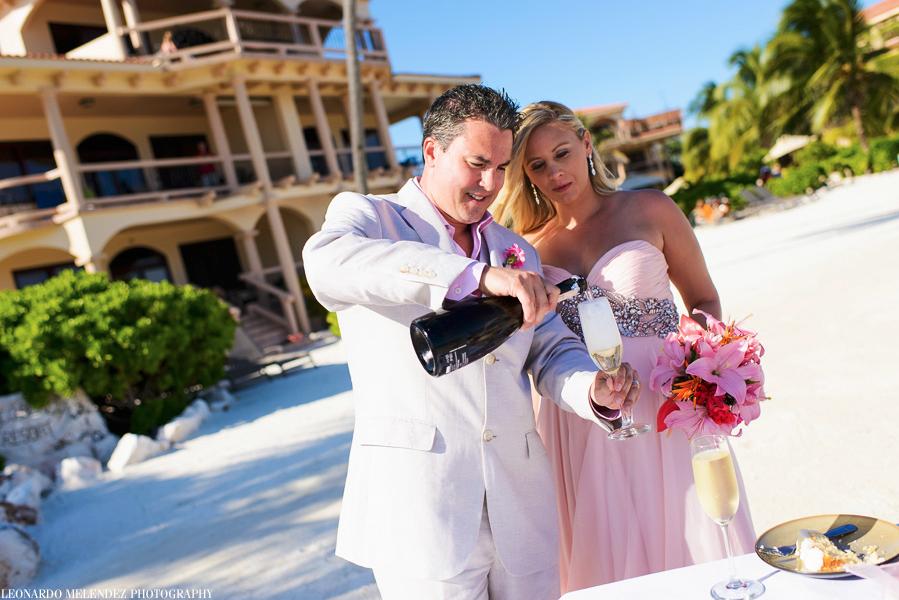 Coco Beach Resort wedding, Belize, Ambergris Caye