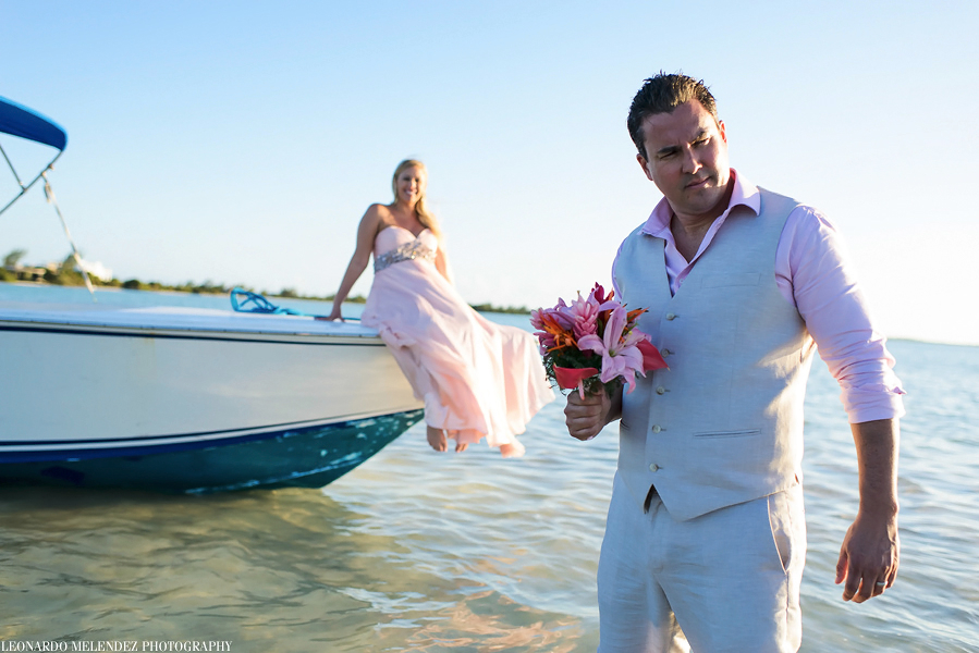 Belize beach wedding photography, Ambergris Caye