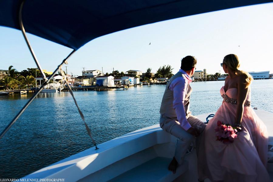 Belize wedding, Ambergris Caye