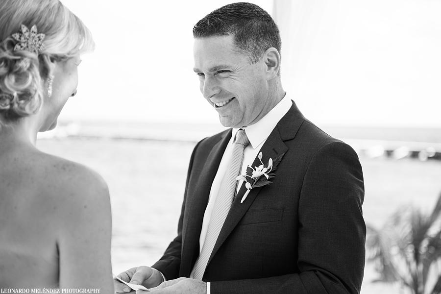 Belize beach wedding, Azul Resort, Ambergris Caye