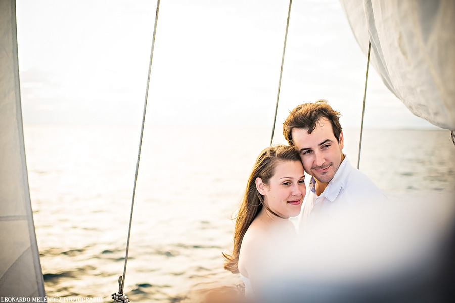 Sailboat wedding, Ambergris Caye. Belize wedding photography.
