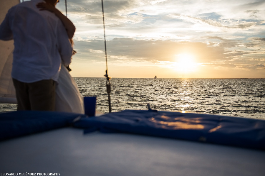Ambergris Caye sunset. Belize wedding photography.