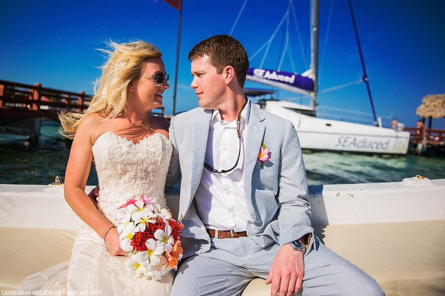 Belize wedding photography by Leonardo Melendez.