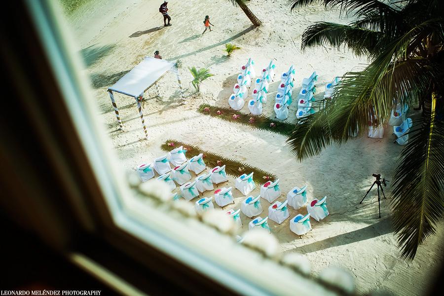 Belize wedding, Captain Morgan's Resort, Ambergris Caye.