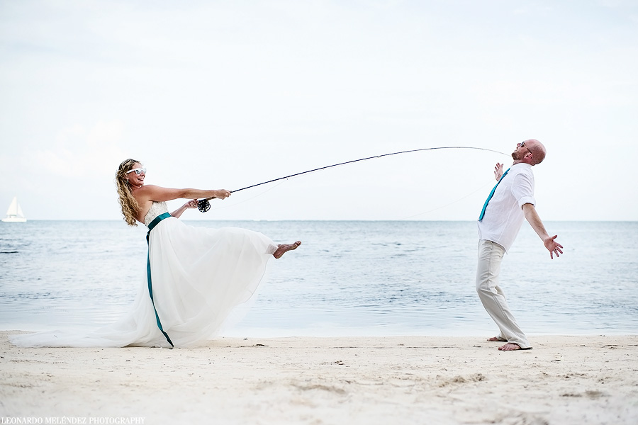 Captain Morgan's Belize wedding, Ambergris Caye.  Belize wedding photography by Leonardo Melendez Photography.