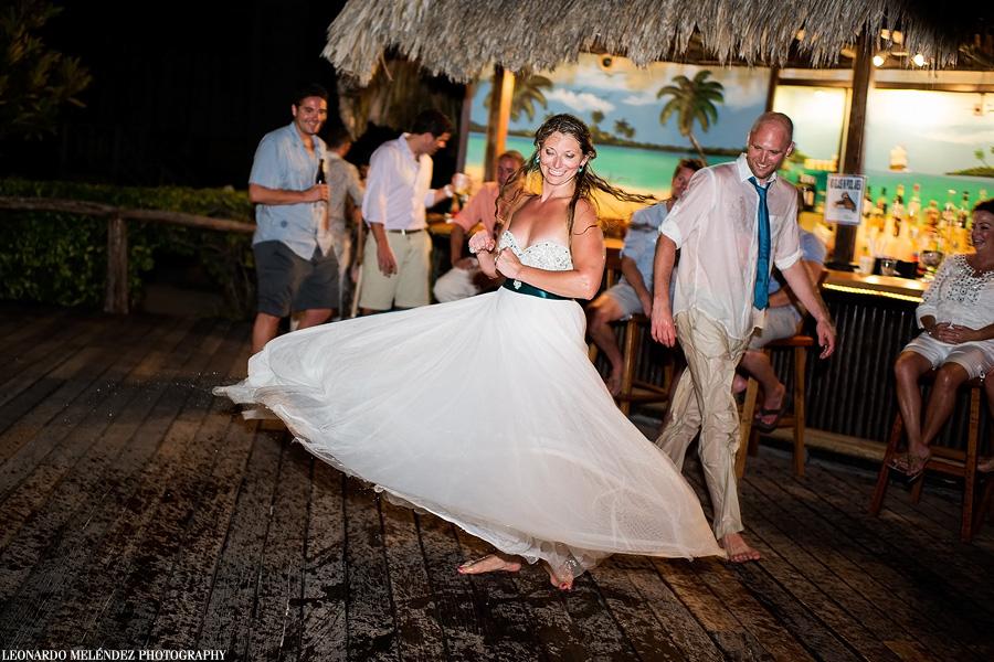 Belize wedding photography, Captain Morgan's Resort.