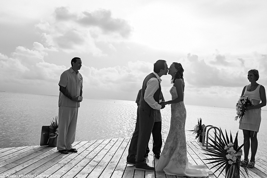 Belize wedding, Iguana Reef Inn, Caye Caulker.
