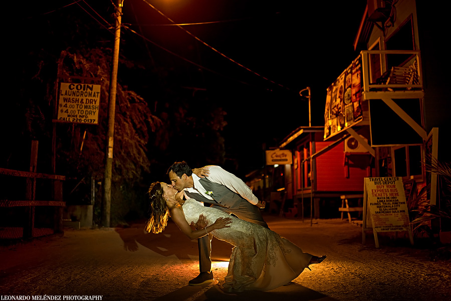 Belize wedding photography.  Caye Caulker.