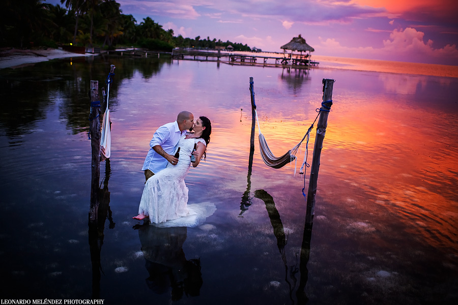 portofino resort belize wedding belize wedding photography by leonardo melendez photography