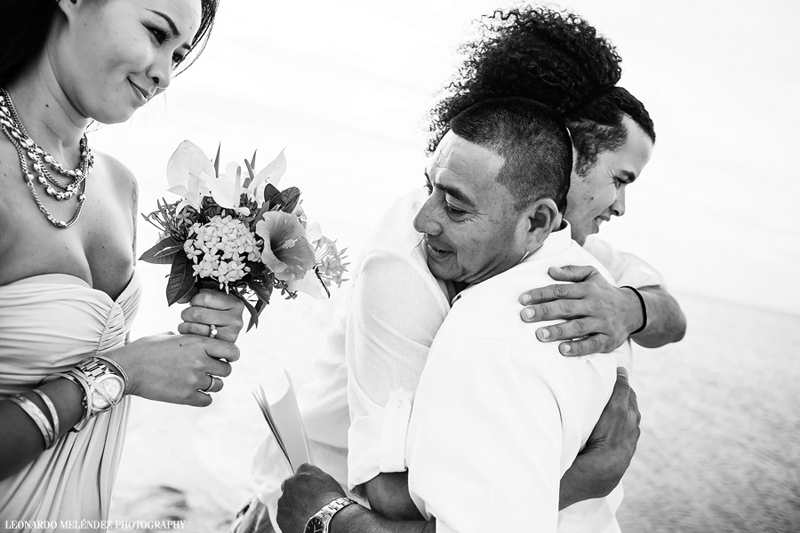 Belize wedding, Ambergris Caye, Belize. Belize wedding photography by Leonardo Melendez Photography.