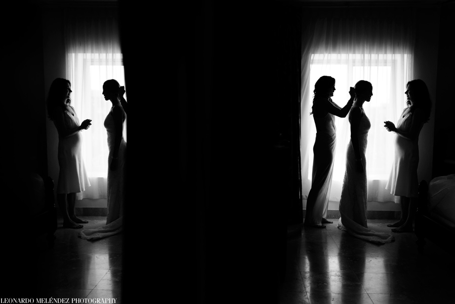 Las Terrazas Resort wedding.  Belize wedding photography by Leonardo Melendez Photography.