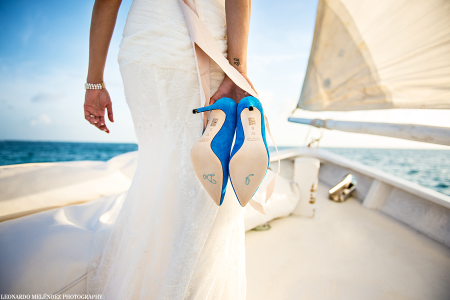 Belize sailboat wedding, Belize wedding photographer