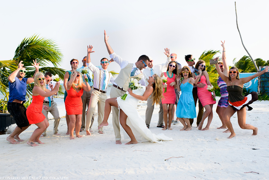 Belize Destination wedding at Las Terrazas Resort. Belize wedding photographers, Leonardo Melendez Photography