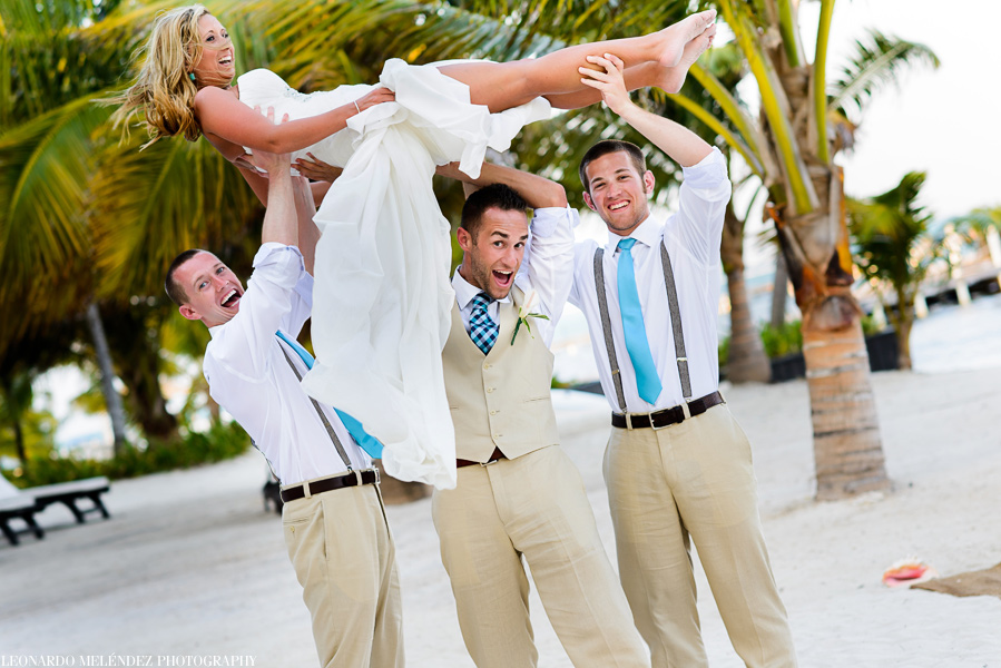 Belize Wedding Photographers, Las Terrazas Resort, Ambergris Caye, Belize