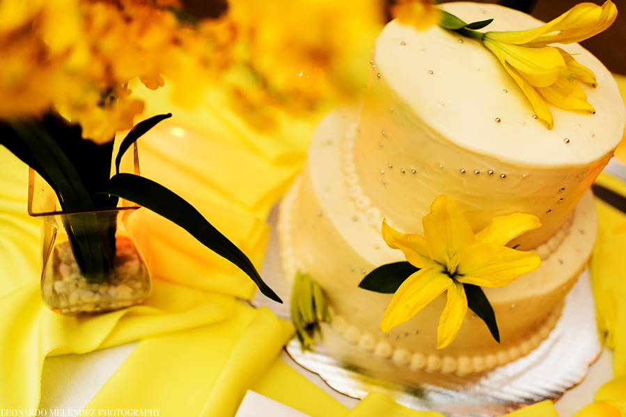 Wedding Cake.  Coco Beach Resort Wedding.  Belize wedding photography by Leonardo Melendez Photography.