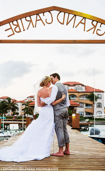 Grand Caribe Belize wedding. Belize wedding photographers, Leonardo Melendez Photography.