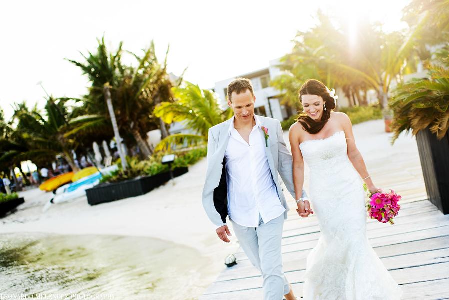 Las Terrazas Belize wedding. Belize wedding photographers, Leonardo Melendez Photography.