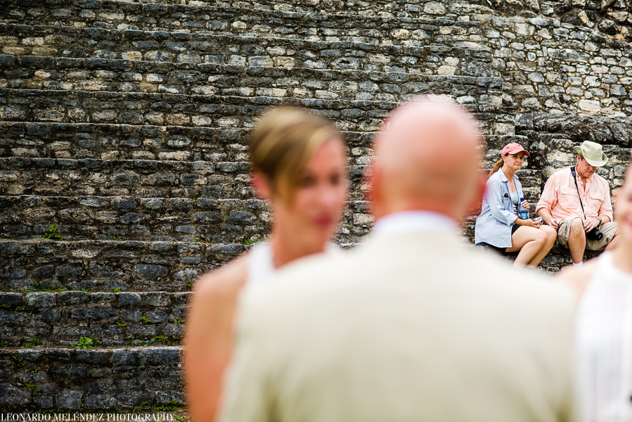 Caracol Mayan Ruins wedding - Belize Wedding Photography by Leonardo Melendez Photography