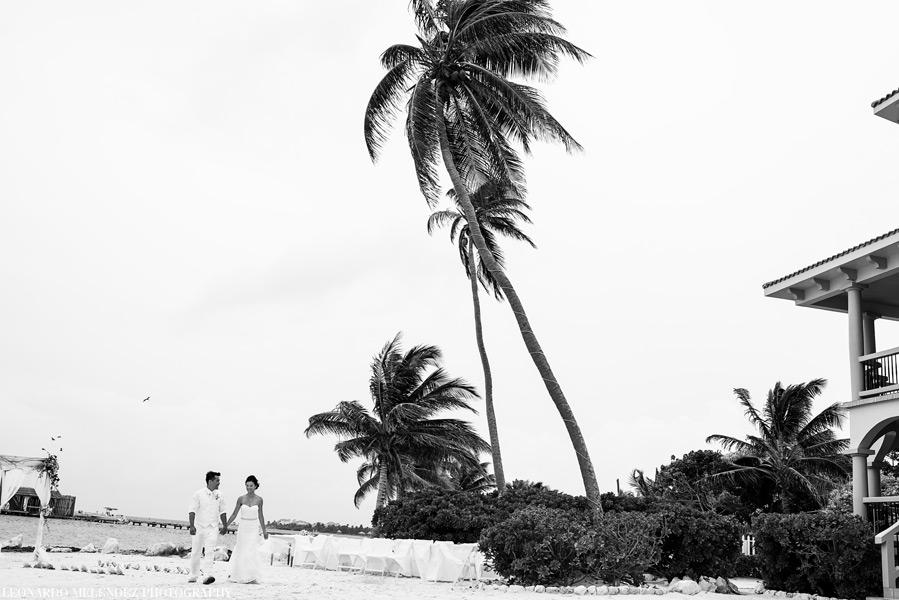 Belize wedding photography - Coco Beach Resort. Leonardo Melendez Photography.