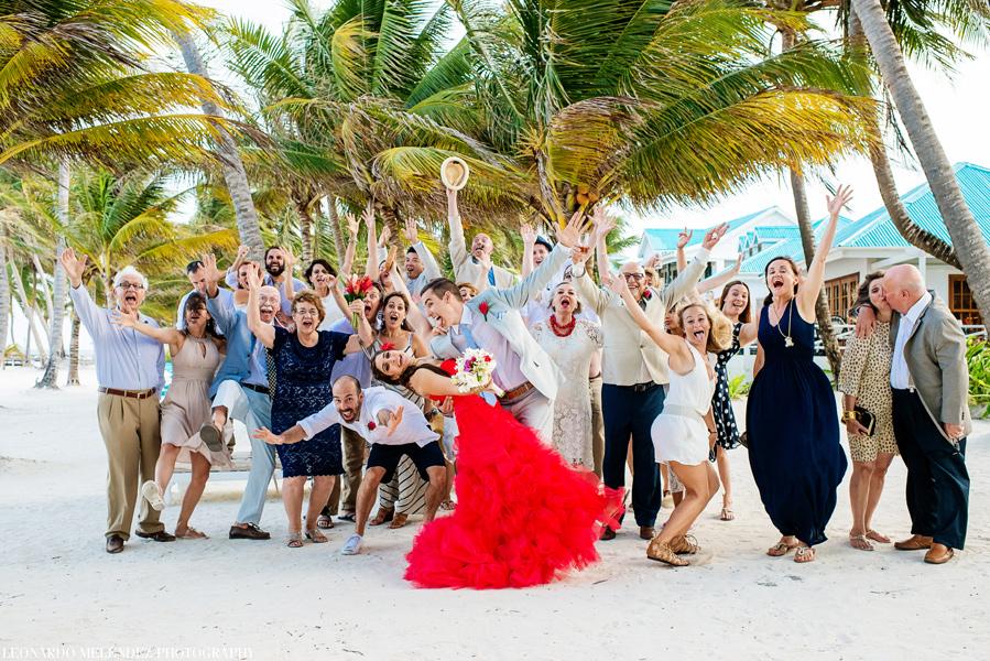 Victoria House Belize Beach Wedding