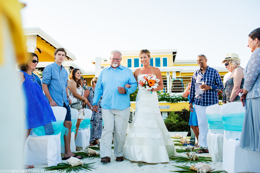 Belize wedding at Wataview Beach House