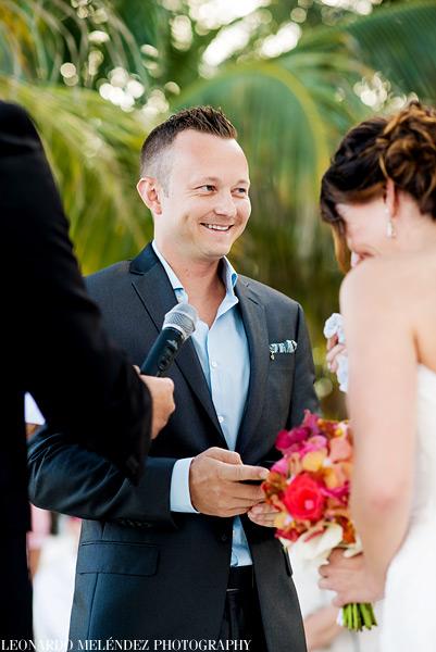 Victoria house beach wedding.  Photo by Leonardo Melendez Photography.