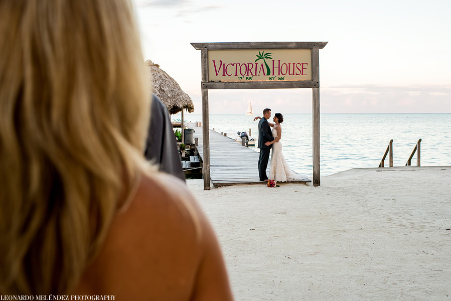 Victoria House wedding. Belize wedding photography, Leonardo Melendez Photography.