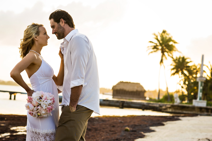 Belize wedding photography Coco Beach Resort