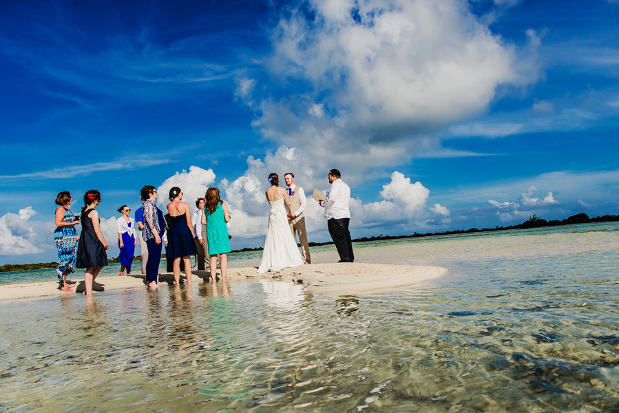 Belize beach weddings