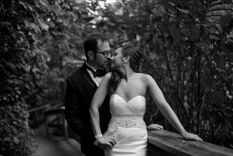 Caves Branch Belize wedding, garden wedding